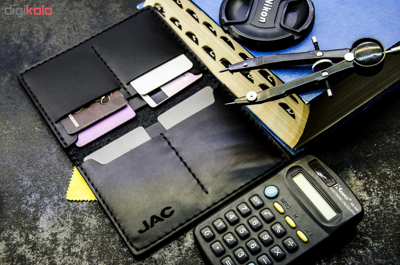 کیف مدارک خودرو چرمینه اسپرت طرح جک کد 58024-B main 1 2