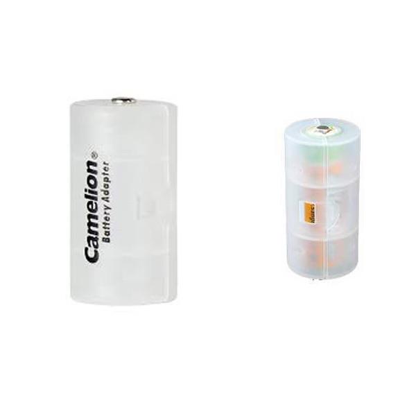 مبدل باتری قلمی به باتری سایز D کملیون مدل BA-D بسته دو عددی