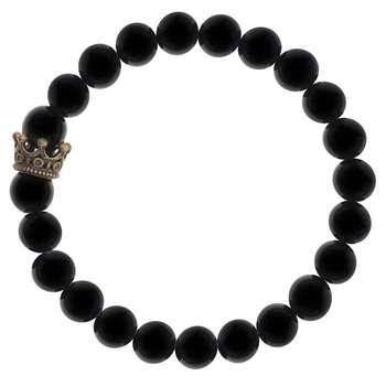 دستبند زنانه لاچو طرح تاج کد TA-004