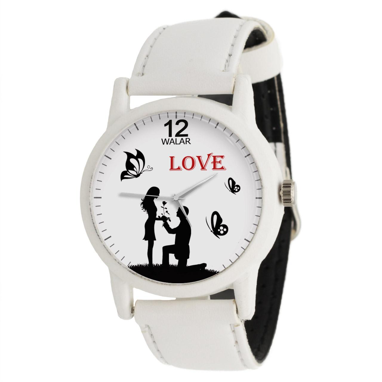 ساعت مچی عقربه ای زنانه والار طرح LOVE کد LF1629