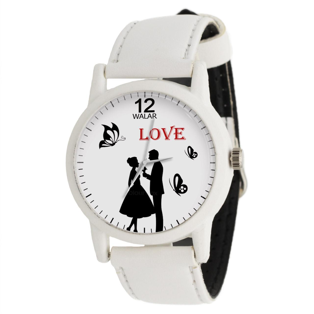 ساعت مچی عقربه ای زنانه والار طرح LOVE کد LF1628