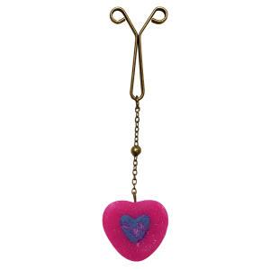 گیره روسری دخترانه طرح قلب کد SC 277