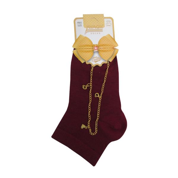 جوراب دخترانه ایاق کد ZAN-20555
