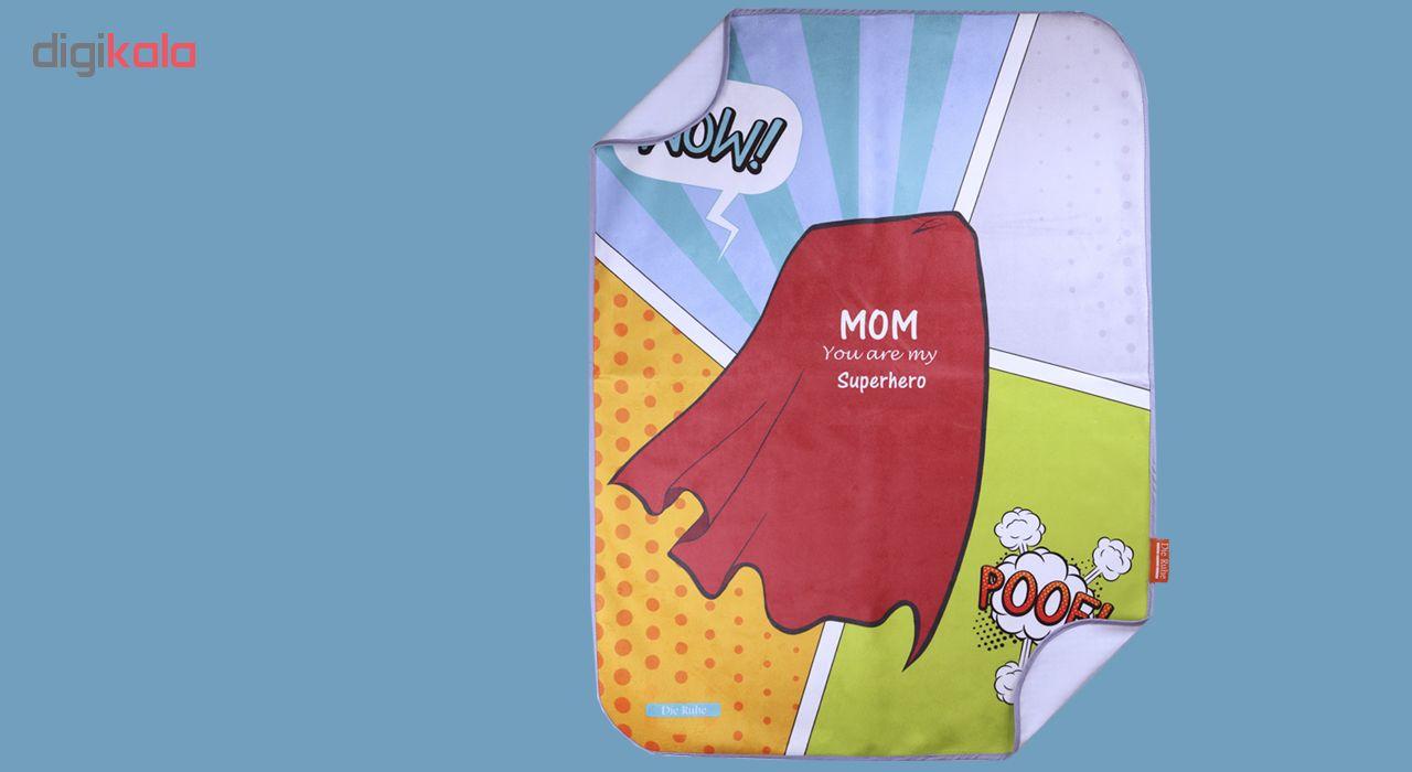 زیرانداز تعویض نوزادی دی روحه مدل Superhero main 1 2