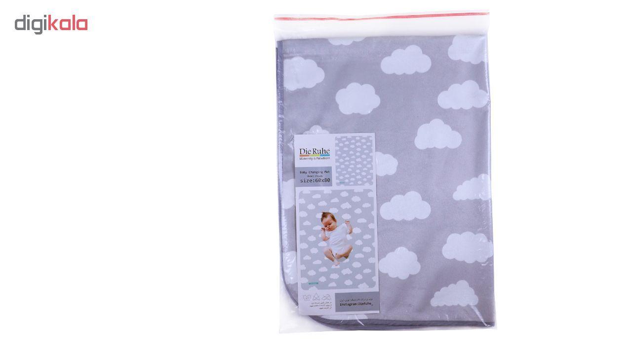 زیرانداز تعویض نوزاد دی روحه مدل Cloudy main 1 1