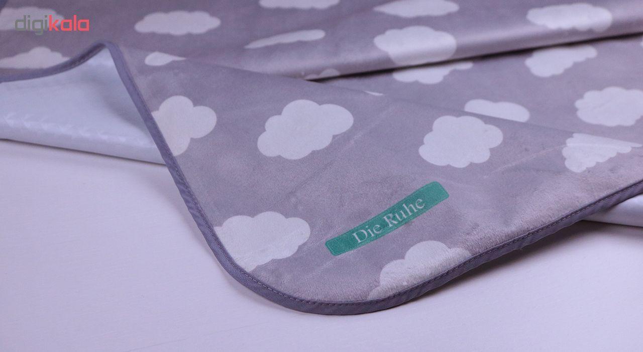 زیرانداز تعویض نوزاد دی روحه مدل Cloudy main 1 2