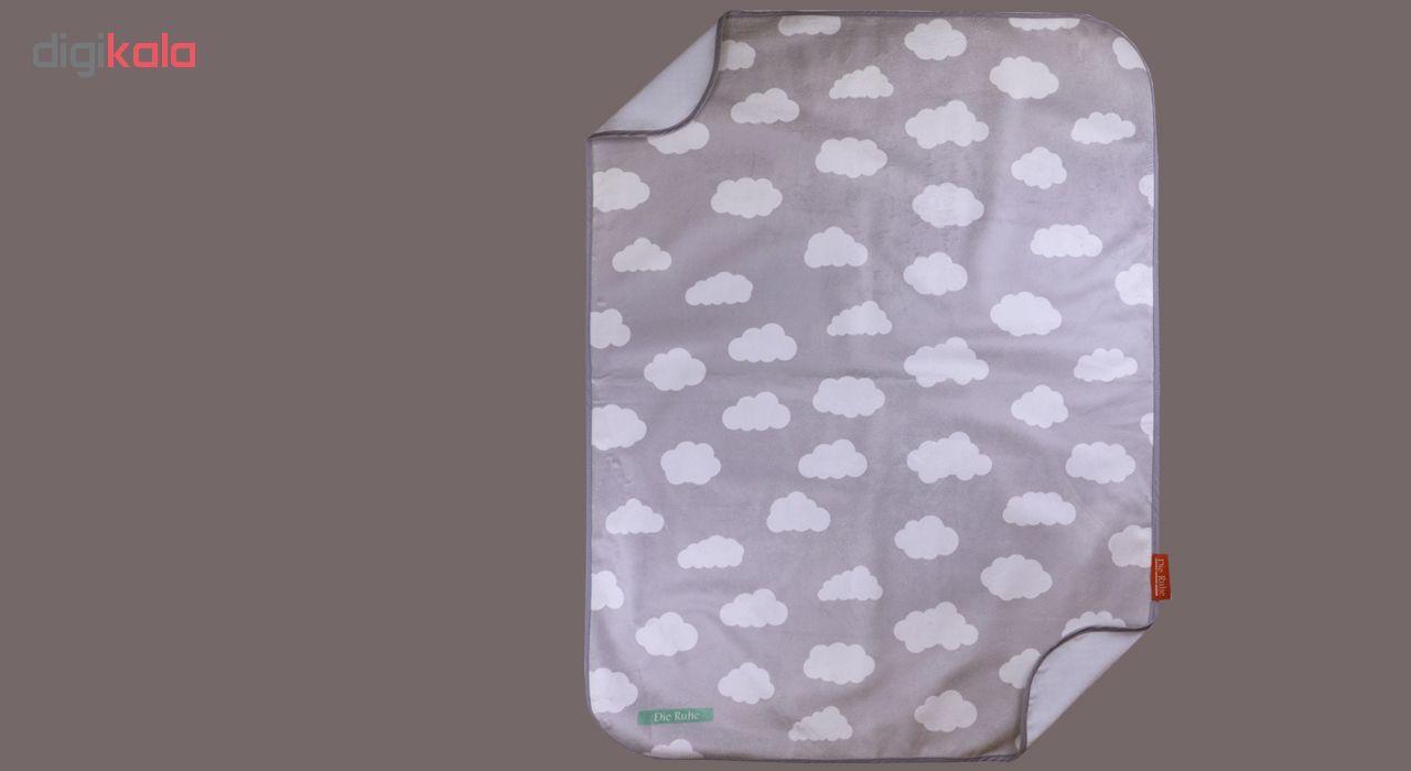 زیرانداز تعویض نوزاد دی روحه مدل Cloudy main 1 3