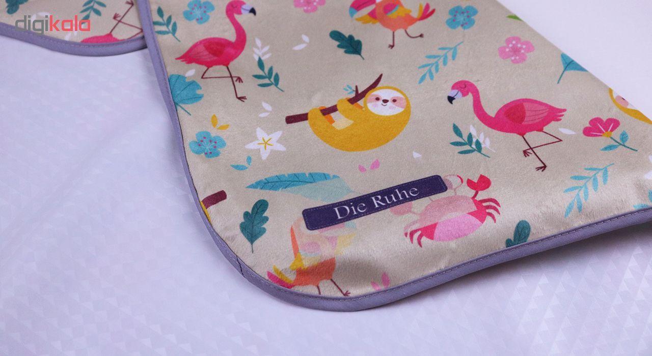 زیرانداز تعویض نوزاد دی روحه مدل Flamingo main 1 2