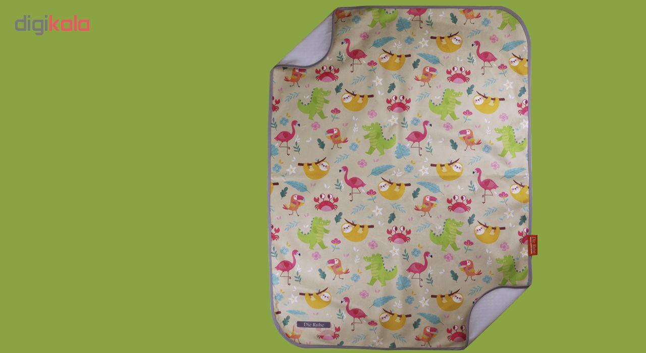 زیرانداز تعویض نوزاد دی روحه مدل Flamingo main 1 3