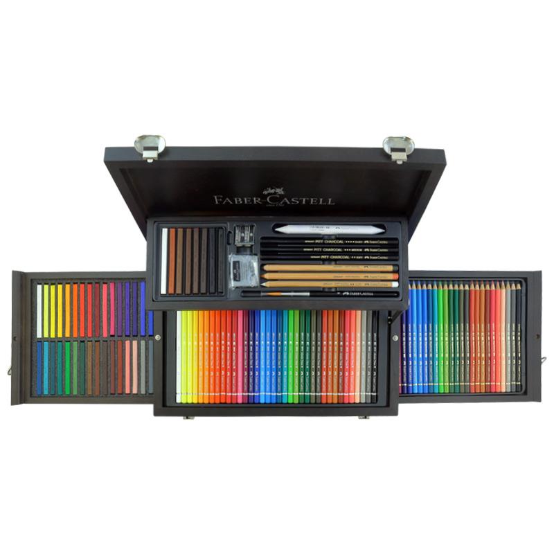 مدادرنگی فابرکاستل مدل پلی کروموس کد 135728 مجموعه 108 عددی