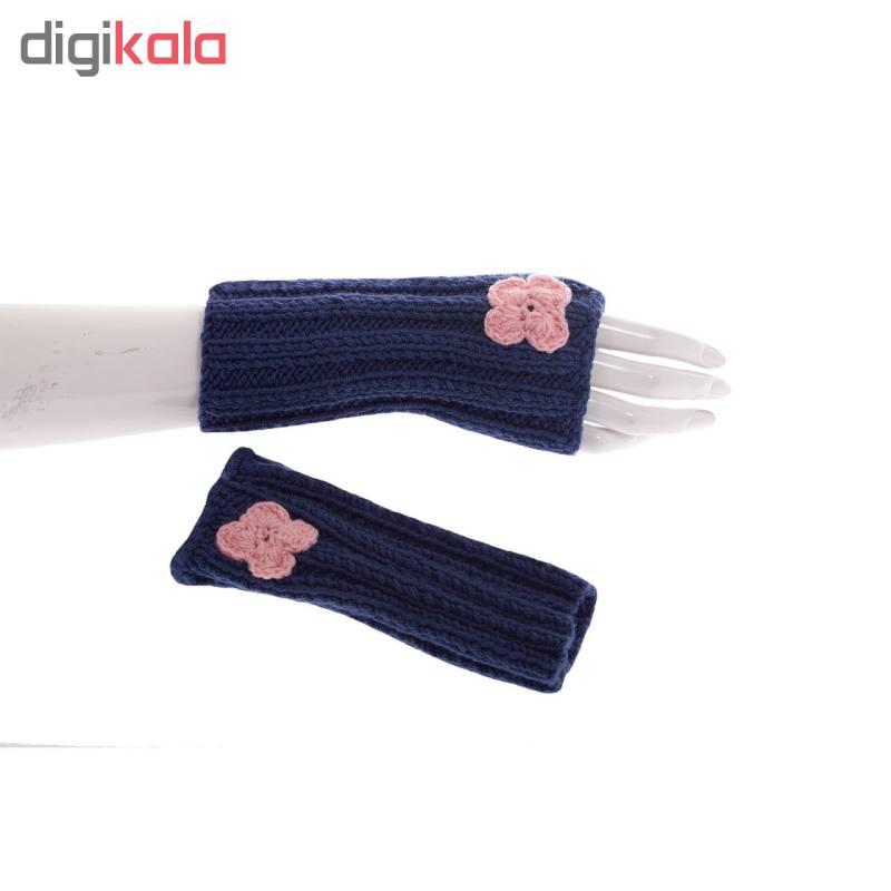 ساق دست بافتنی دخترانه کد S19