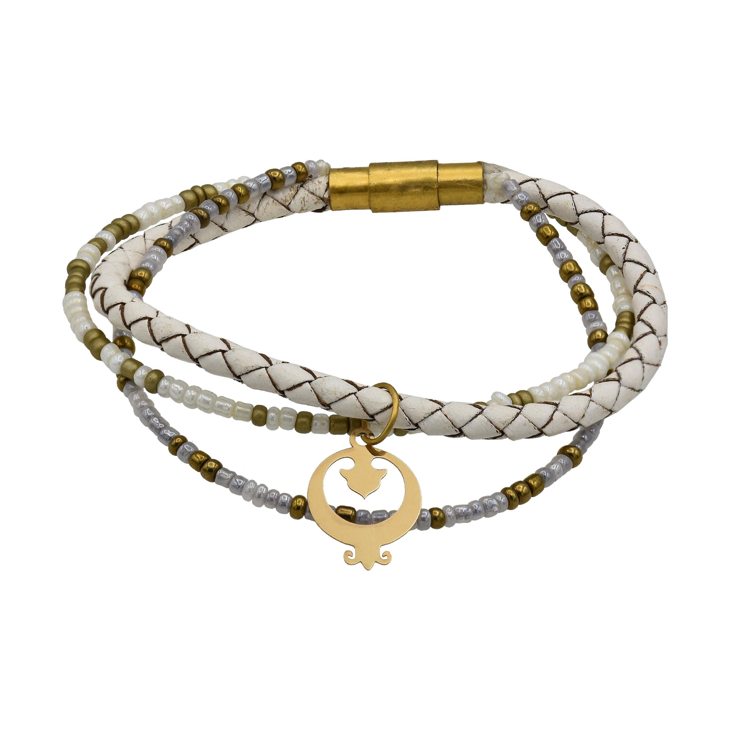 دستبند نقره زنانه کد 592s2