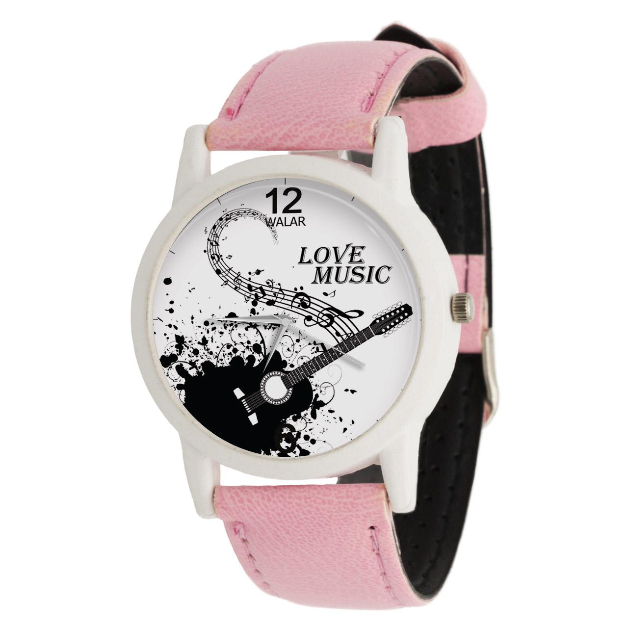 ساعت مچی عقربه ای زنانه والار طرح موسیقی کد LF1760              خرید (⭐️⭐️⭐️)