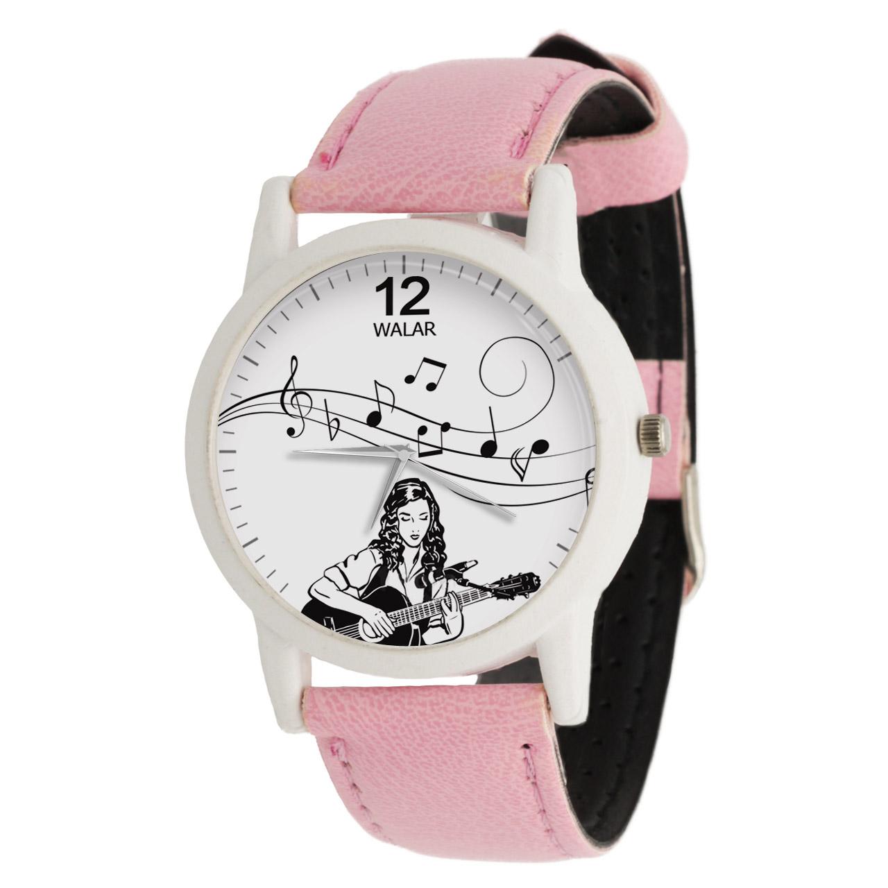 ساعت مچی عقربه ای زنانه والار طرح موسیقی کد LF1768              خرید (⭐️⭐️⭐️)