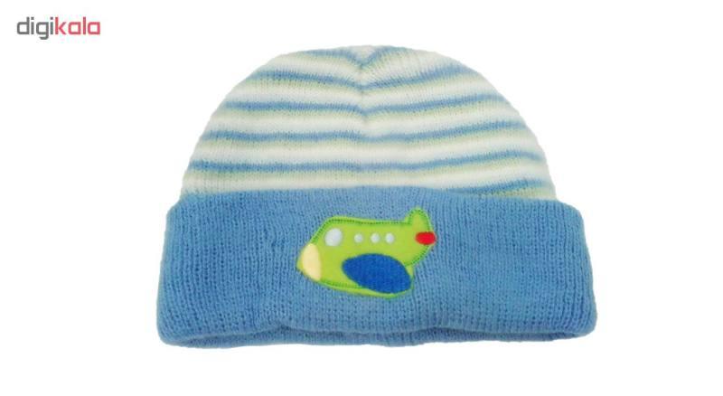 کلاه بافتنی نوزاد مدل Jimbo17