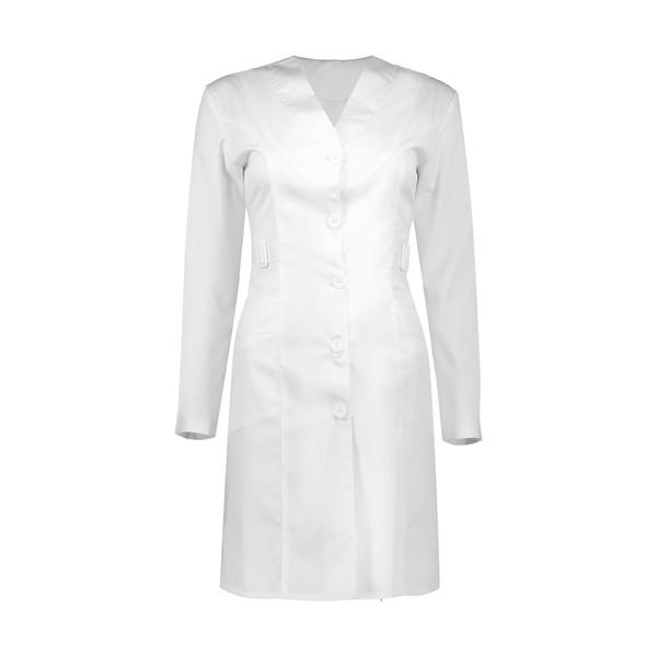 روپوش پزشکی زنانه مدل صدرا C115