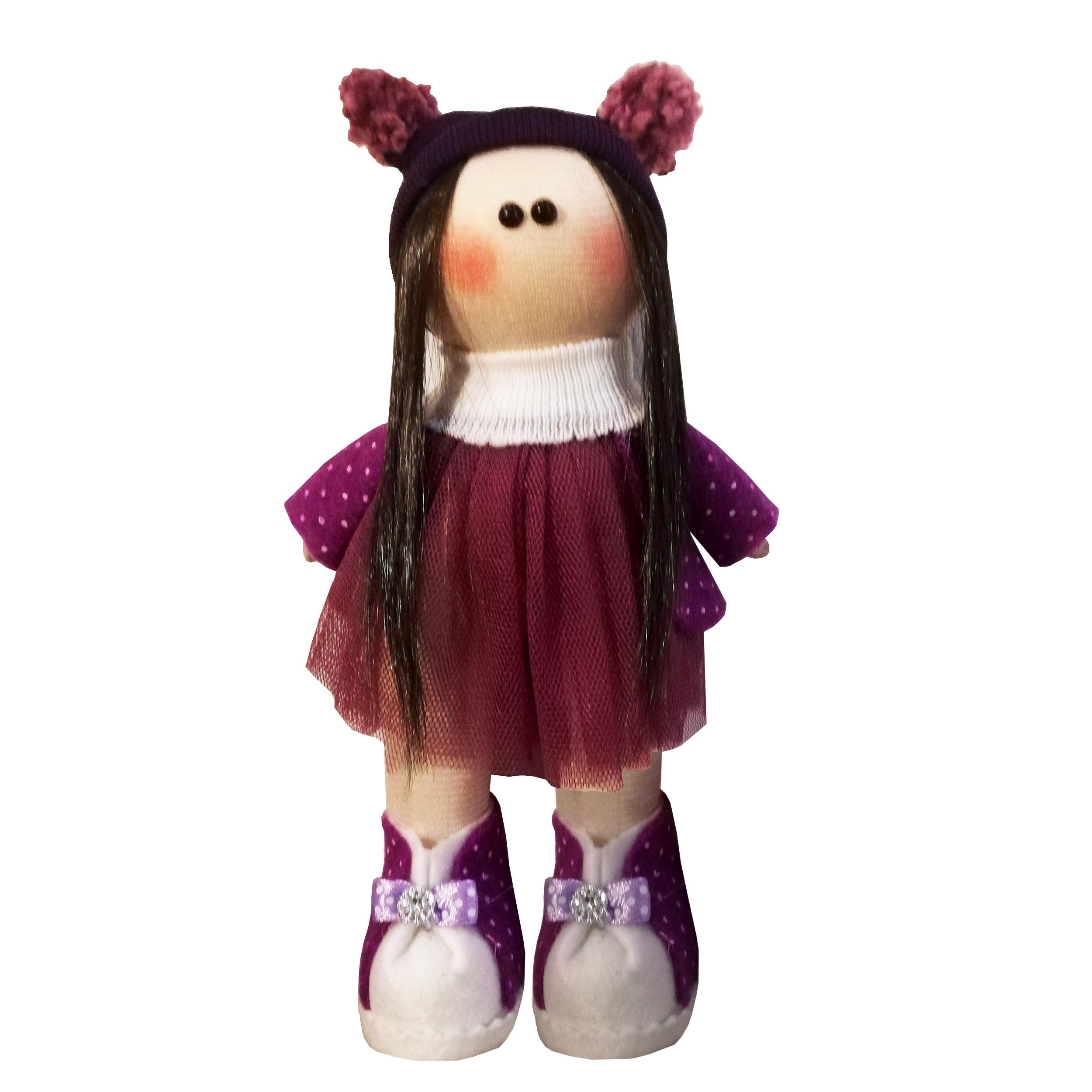 عروسک طرح دختر روسی کد MRK4 ارتفاع 25 سانتی متر