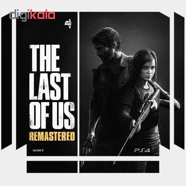 خرید اینترنتی برچسب پلی استیشن 4 پرو طرح The Last Of Us اورجینال