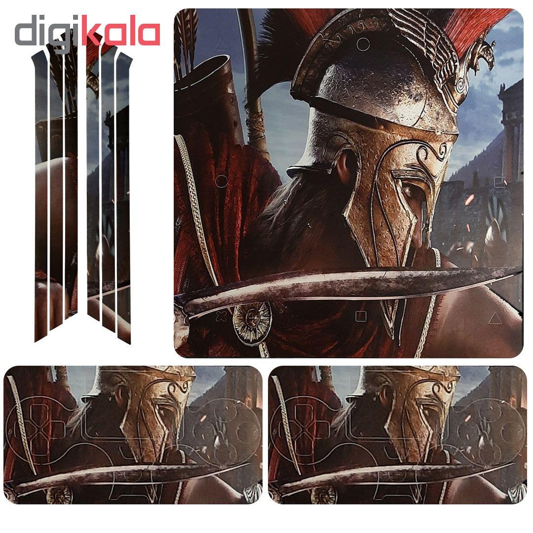 خرید اینترنتی برچسب پلی استیشن 4 پرو طرح assassin اورجینال
