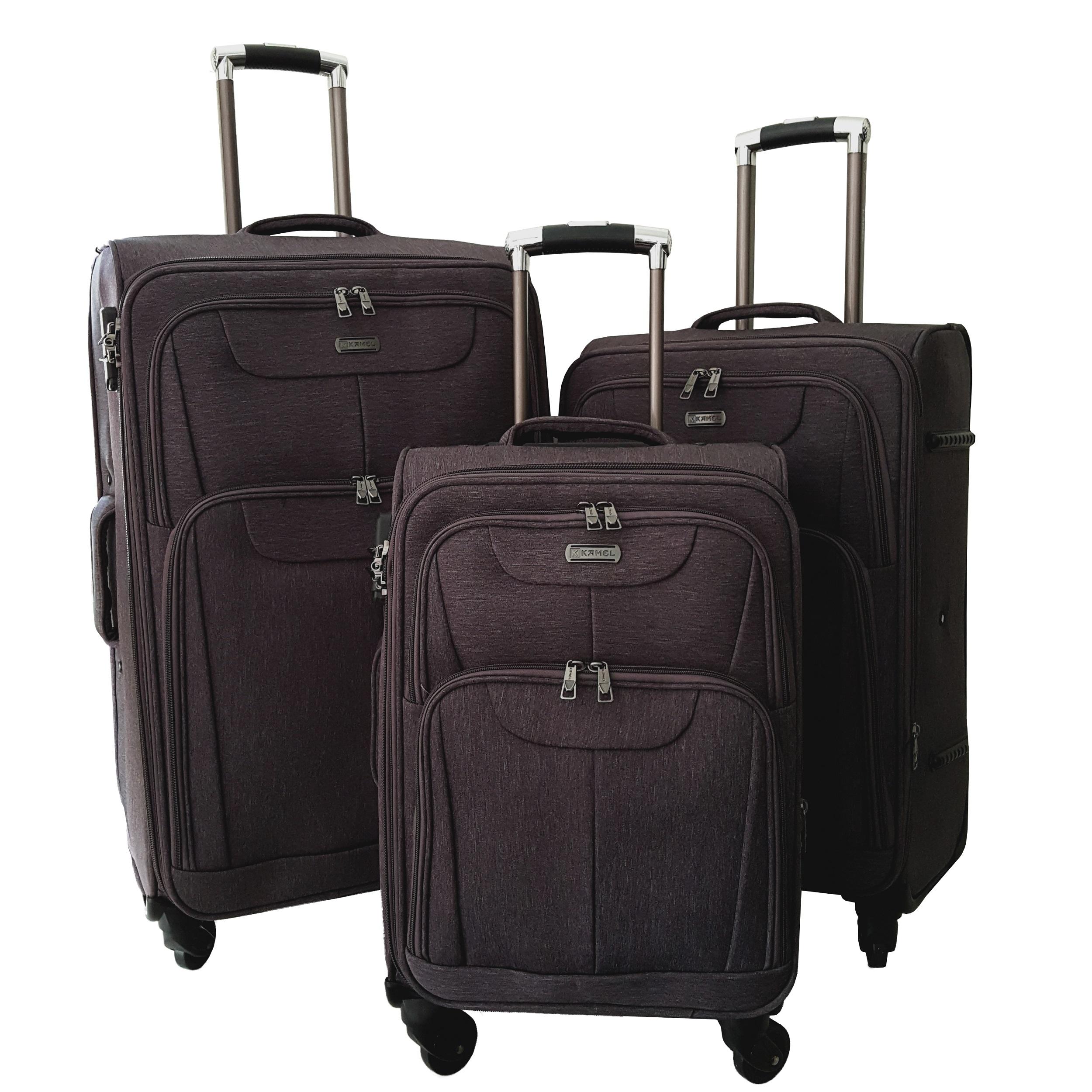 مجموعه سه عددی چمدان کمل کد 10199