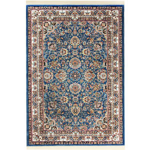 فرش ماشینی فرش سهند کد VF17.VA زمینه آبی