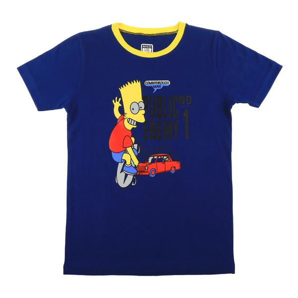 تی شرت ناوالس مدل Simpson-BL