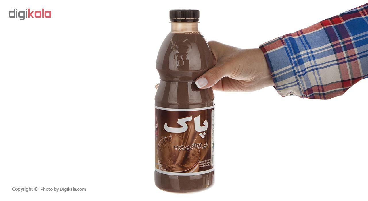 شیر کاکائو پرچرب پاک مقدار 1 لیتر