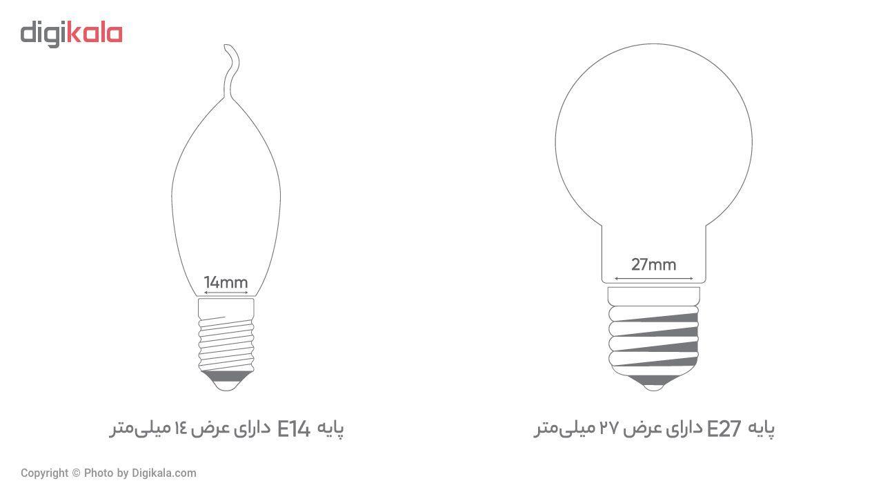 لامپ ال ای دی 7 وات بروکس مدل C37-1740 پایه E14 main 1 4