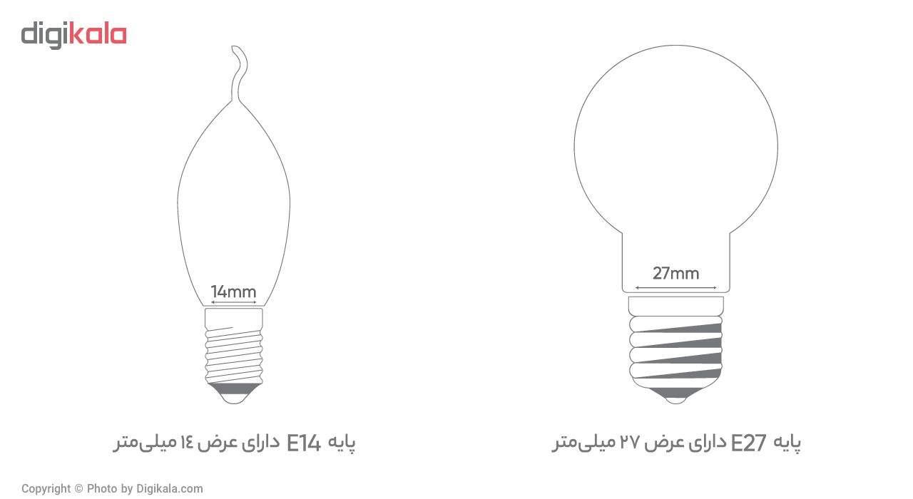 لامپ ال ای دی 10 وات بروکس مدل 5322-A60 پایه E27 main 1 4
