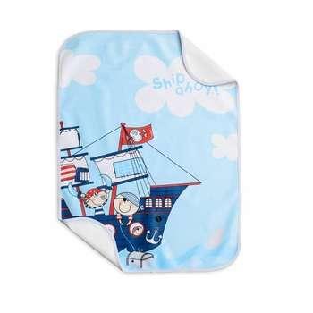 زیر انداز تعویض نوزاد مدل pirate ship