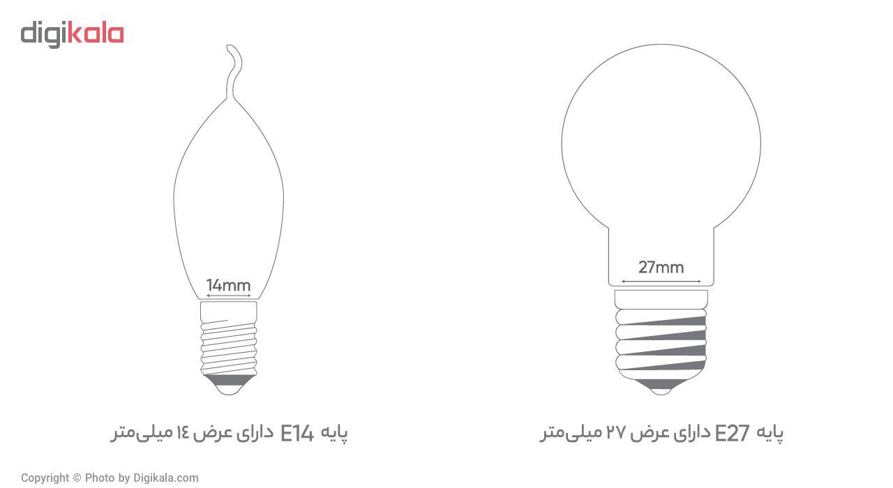لامپ کم مصرف 40 وات نور مدل NES-FS-40W پایه E27 main 1 6