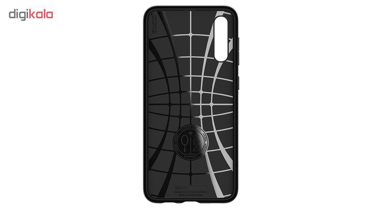 کاور اسپیگن مدل Rugged Armor مناسب برای گوشی موبایل سامسونگ Galaxy A50