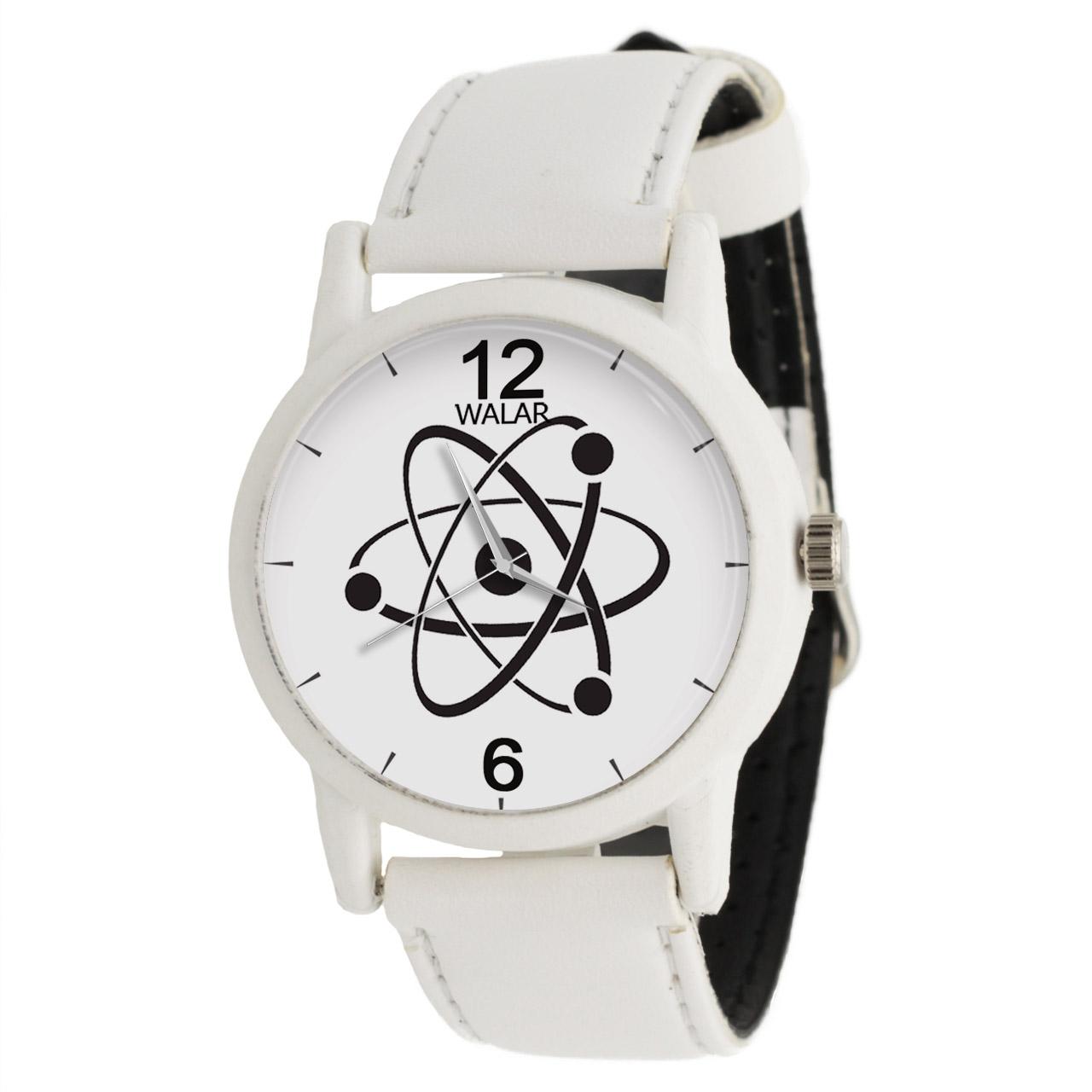 ساعت مچی عقربه ای والار طرح فیزیک کد LF1596