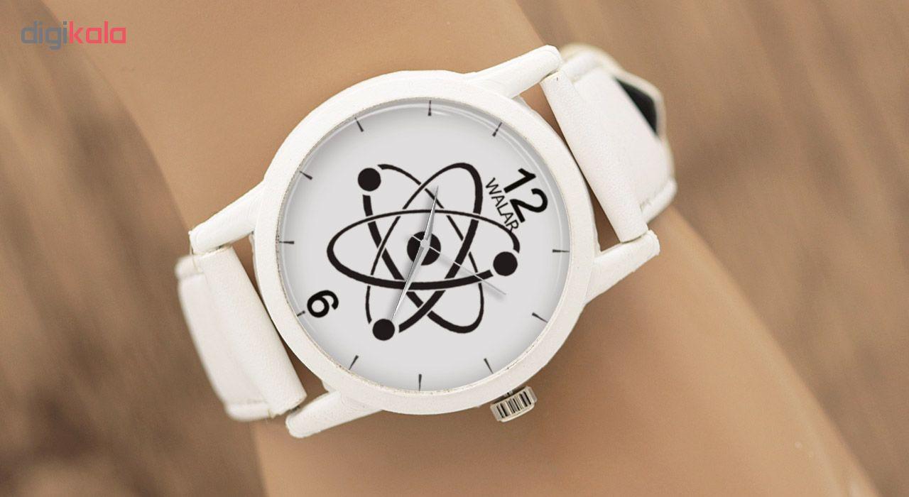 کد تخفیف                                      ساعت مچی عقربه ای والار طرح فیزیک کد LF1596