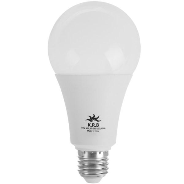 لامپ ال ای دی 15 وات کی آر بی مدل LC15 پایه E27