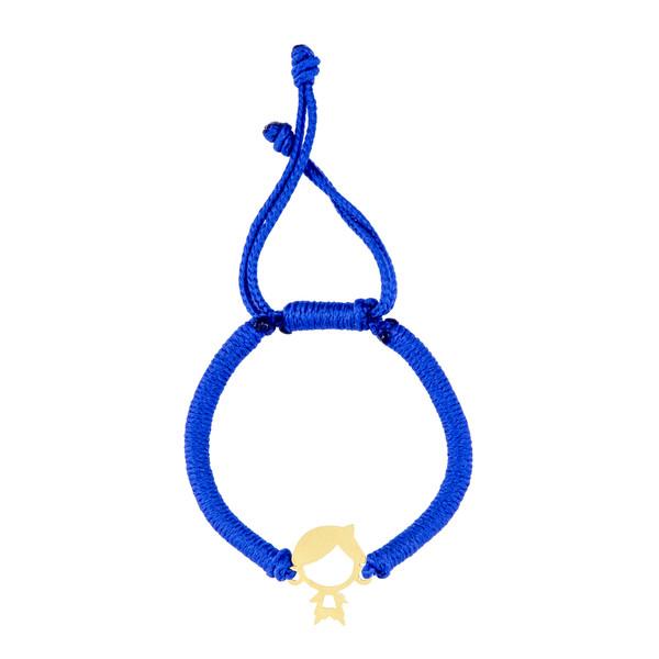 دستبند طلا 18 عیار دخترانه طلامون کد DK1003