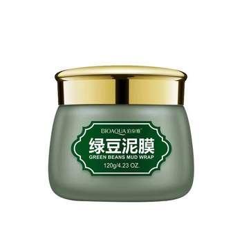 ماسک صورت بایو آکوا مدل Green Beans وزن 120 گرم