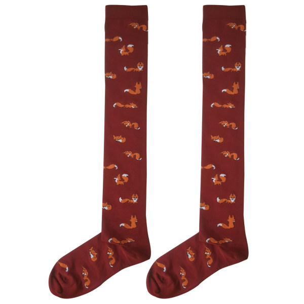 جوراب زنانه ال سون طرح روباه کد PH221
