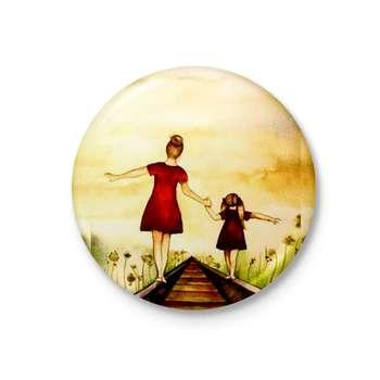 پیکسل طرح مادر و دختر کد 14929