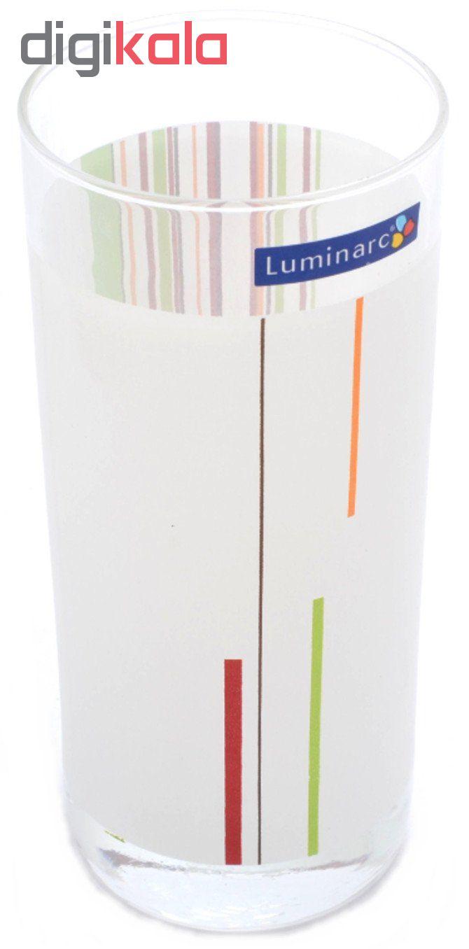 سرویس پارچ و لیوان 7 پارچه لومینارک مدل RAYS