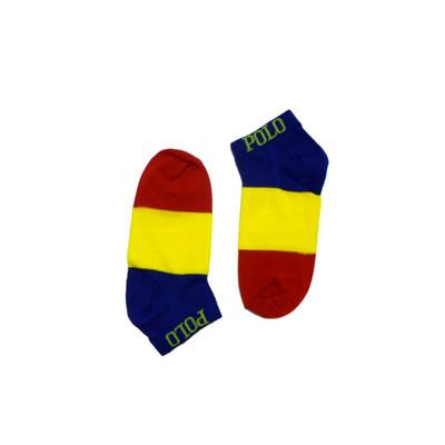 تصویر جوراب مردانه طرح پرچم کلمبیا