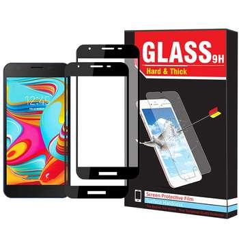 محافظ صفحه نمایش Hard and thick مدل F-01 مناسب برای گوشی موبایل سامسونگ Galaxy A2 Core بسته دو عددی
