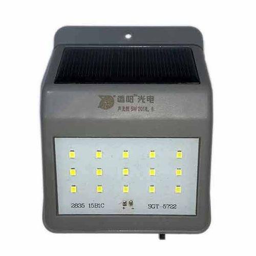لامپ دیواری خورشیدی 25 وات مدل DT15