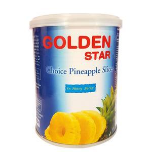 کمپوت آناناس گلدن استار مقدار 565 گرم