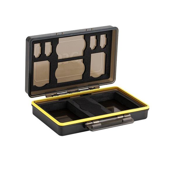 کیف محافظ باتری و کارت حافظه جی جی سی مدل BC-3UN1