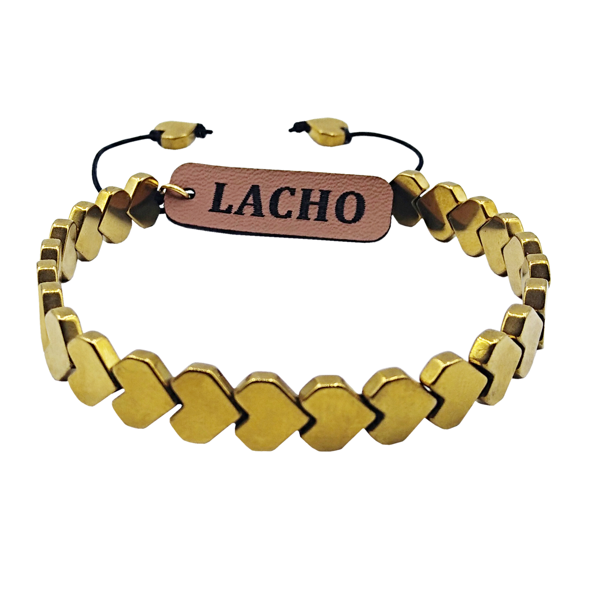 دستبند زنانه لاچو طرح قلب کد GH-002