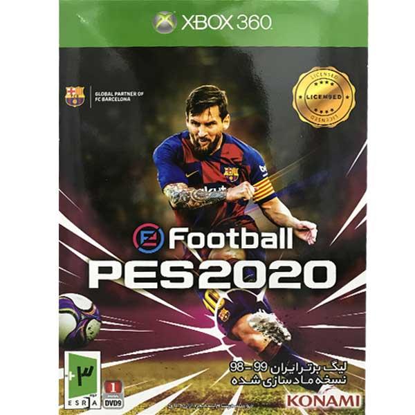 بازی PES 2020 لیگ برتر ایران ۹۸-۹۹ مخصوص XBOX 360