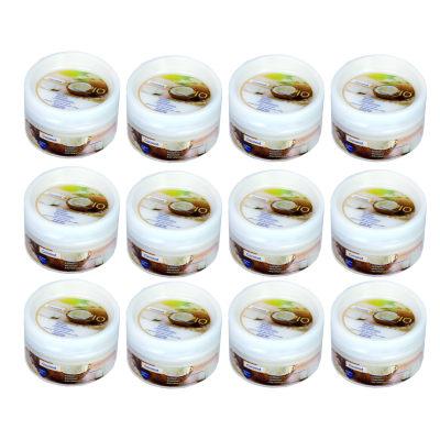 کرم مرطوب کننده لیمپیو مدل Coconut حجم 200 میلی لیتر مجموعه 12 عددی
