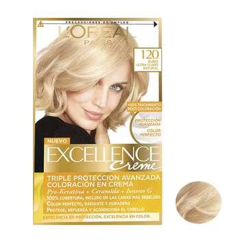 کیت رنگ مو لورآل سری Excellence شماره 120 حجم 48 میلی لیتر بلوند روشن