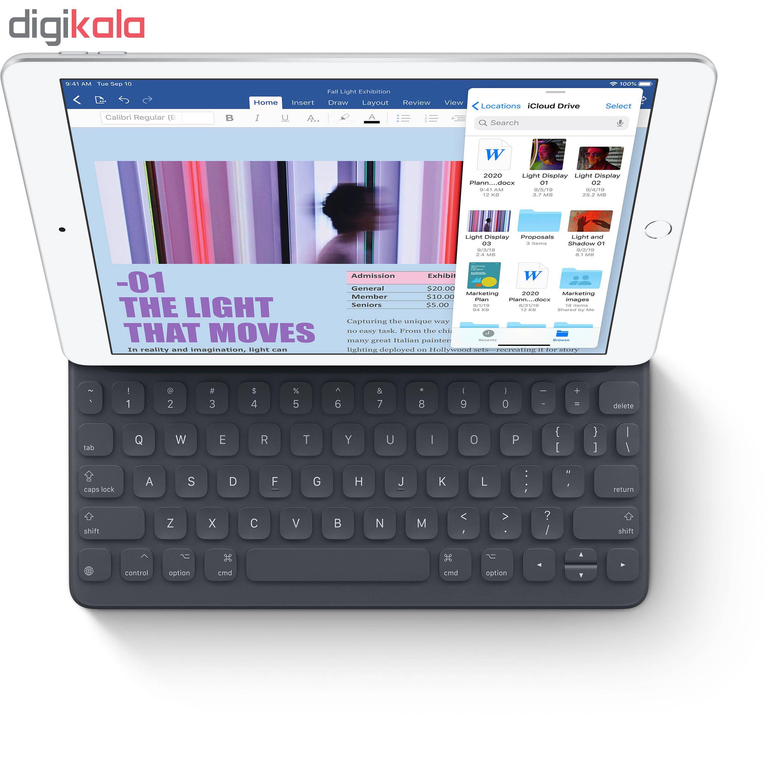 تبلت اپل مدل iPad 10.2 inch 2019 WiFi ظرفیت 32 گیگابایت main 1 11
